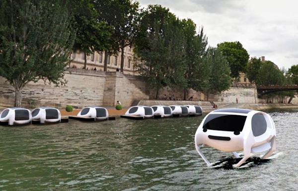 Perierga.gr-Έρχονται τα πρώτα ιπτάμενα ταξί στο Παρίσι