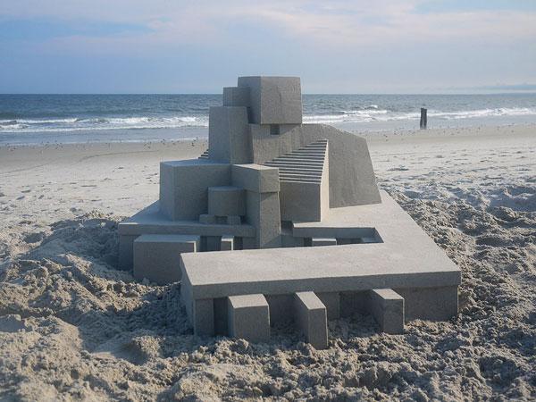 perierga.gr - Μοντέρνα κάστρα στην άμμο!