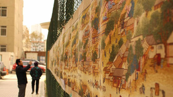 "perierga.gr - Κεντητό ""γκράφιτι"" σε πόλη της Κίνας!"
