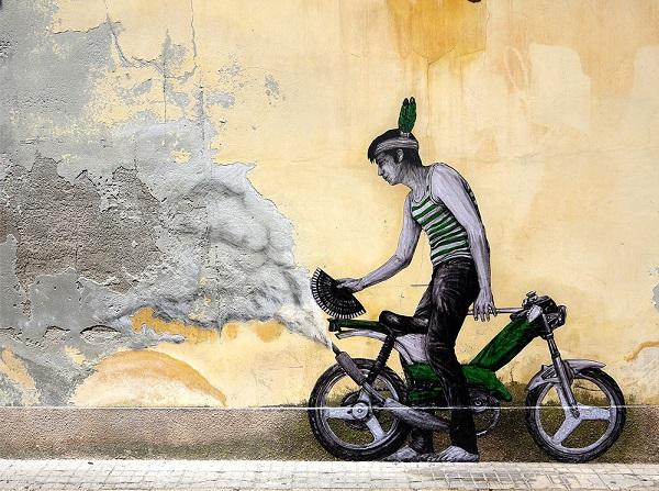 perierga.gr - Χιουμοριστικά γκράφιτι στους δρόμους του Παρισιού!