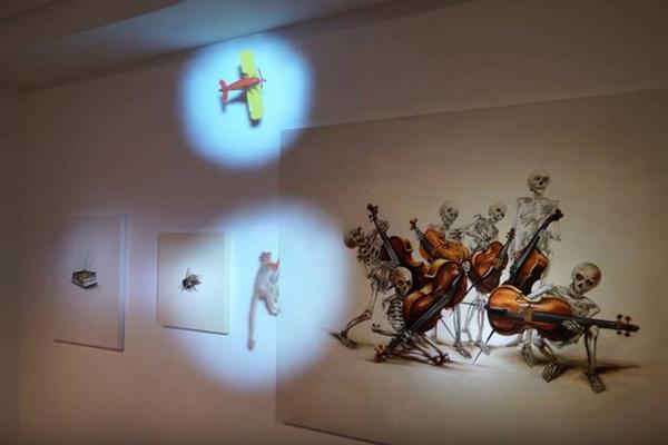 "Perierga.gr-Φιγούρες ""δραπετεύουν"" από τους πίνακες σε ένα τρισδιάστατο project"