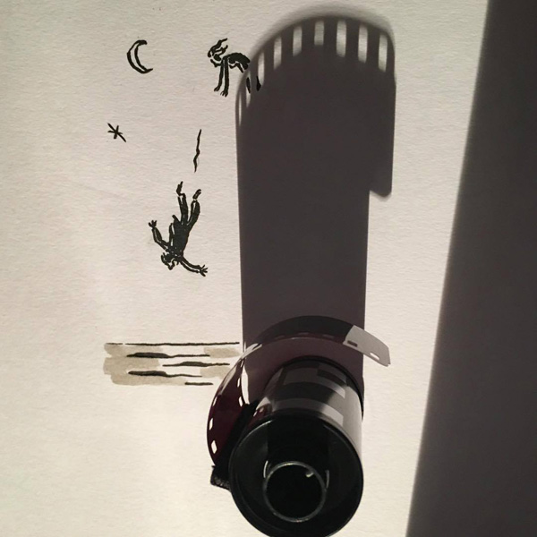 Perierga.gr-Καθημερινά αντικείμενα δημιουργούν πρωτότυπα έργα τέχνης με τη σκιά τους