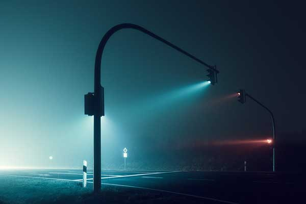 Perierga.gr-Εντυπωσιακές φωτογραφίες από άδειους δρόμους τη νύχτα