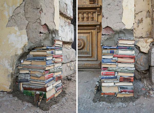 Perierga.gr-Δημιουργικές επιδιορθώσεις μετατρέπουν χαλασμένα αντικείμενα σε έργα τέχνης