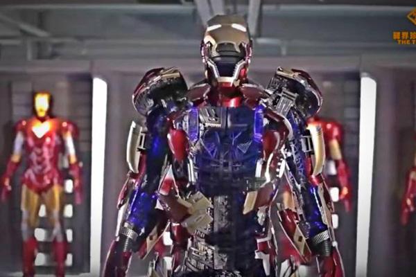 Perierga.gr-Κινεζική εταιρεία παιχνιδιών έφτιαξε την στολή του Iron Man