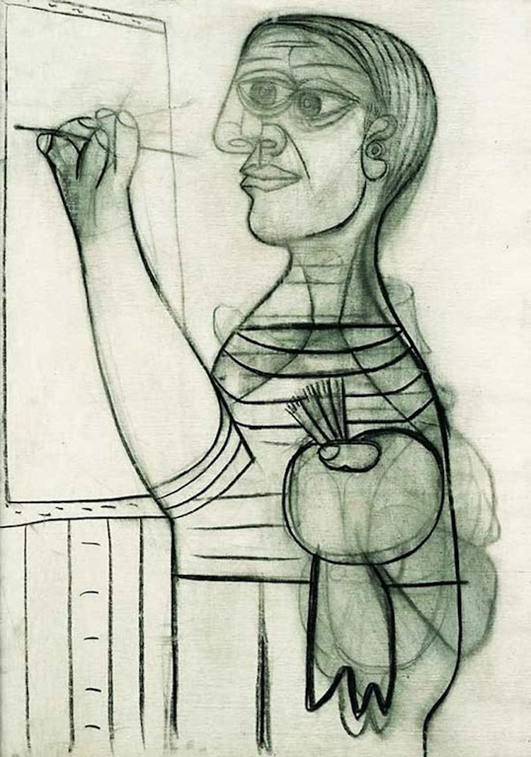 perierga.gr - Πορτρέτα του Πικάσο από τα 15 μέχρι τα 90 του!