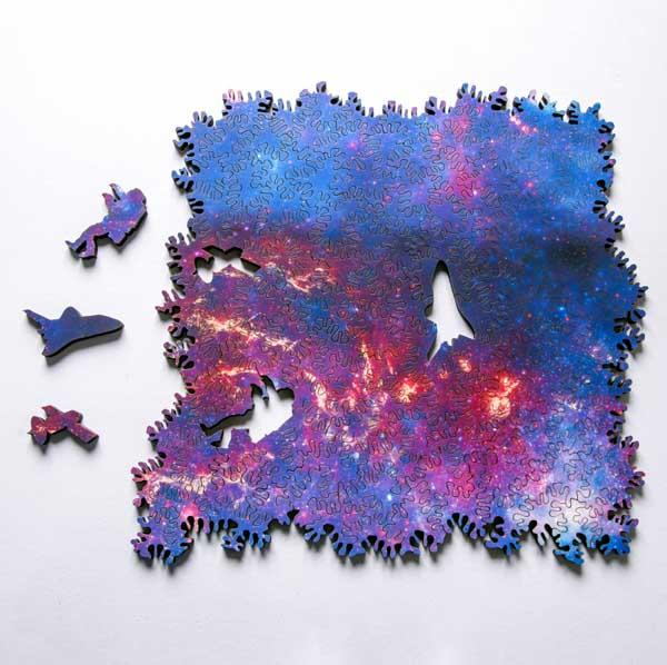 """Perierga.gr-""""Ατελείωτο"""" γαλαξιακό παζλ σχηματίζεται προς κάθε κατεύθυνση"""