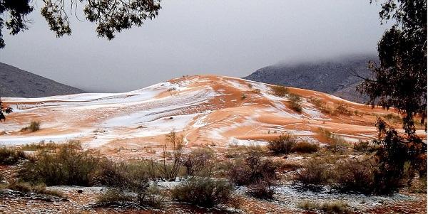 perierga.gr - Χιόνι στη Σαχάρα μετά από 37 χρόνια!