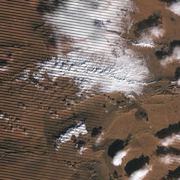 perierga.gr - Τα χιόνια στη Σαχάρα από δορυφόρο της NASA!