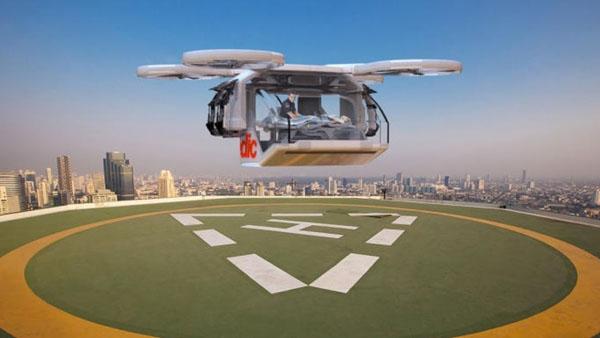 Perierga.gr-Ασθενοφόρο drone έρχεται από το μέλλον