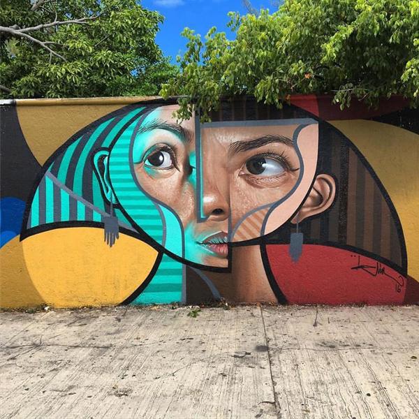 Perierga.gr-Εντυπωσιακά γκράφιτι εμπνευσμένα από τον...Πικάσο