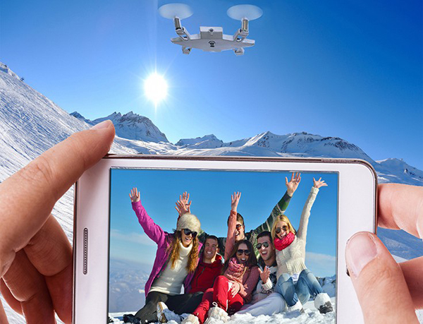 Perierga.gr-Έρχεται η ιπτάμενη κάμερα για selfies