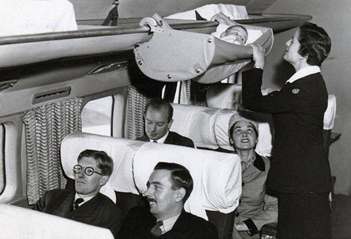 perierga.gr - Πώς ταξίδευαν τα μωρά στο αεροπλάνο το 1950;