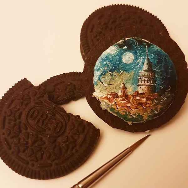 perierga.gr - Ζωγραφική πάνω σε μπισκότα!