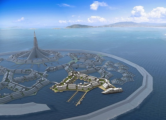 perierga.gr - Η πρώτη πλωτή πόλη ετοιμάζεται στον Ειρηνικό!