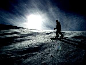 perierga.gr - Το σκι τη νύχτα είναι... μαγικό!