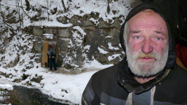 perierga.gr - Άντρας ζει σε σπηλιά 10 χρόνια!