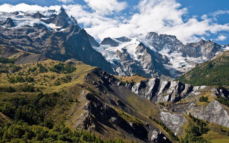 Perierga.gr - Μικρότερος χειμώνας και λιγότερο χιόνι για τις Άλπεις