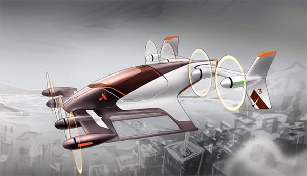 Perierga.gr-Αυτόματο, ηλεκτρικό και...ιπτάμενο το αυτοκίνητο του μέλλοντος