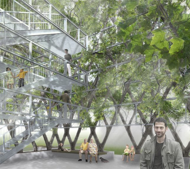"""perierga.gr - Βοτανολόγος """"μεγαλώνει"""" κτήρια από δέντρα!"""