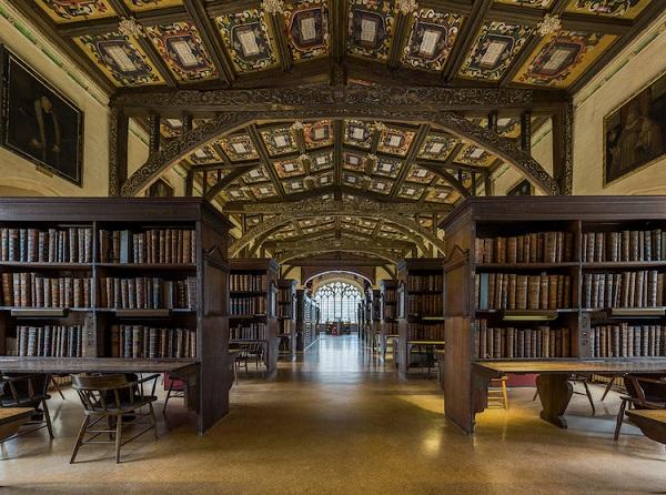perierga.gr - Η υπέροχη βιβλιοθήκη της Οξφόρδης!