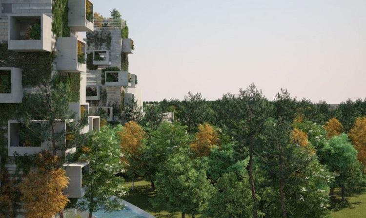 """perierga.gr - Η πρώτη """"κάθετη"""" πράσινη πόλη στην Κίνα θα αντιμετωπίσει την ρύπανση!"""