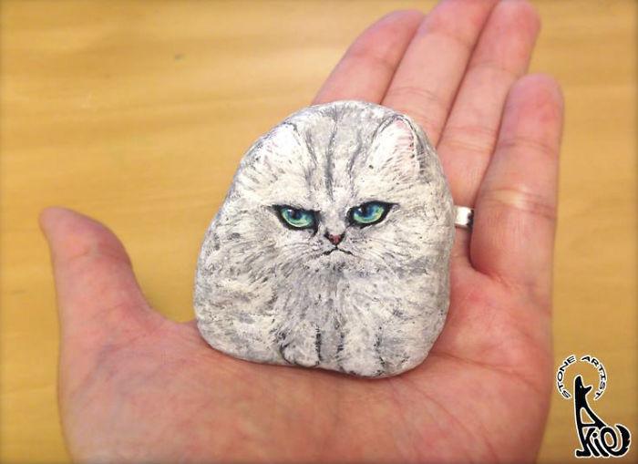 perierga.gr - Βαμμένες πέτρες με υπερρεαλιστικό τρόπο!