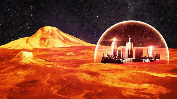 perierga.gr - O σεΐχης του Ντουμπάι προετοιμάζει μια πόλη στον Άρη!