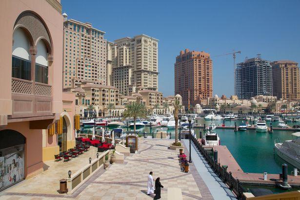 Perierga.gr - Το Κατάρ κατέγραψε τη χαμηλότερη θερμοκρασία στην ιστορία του