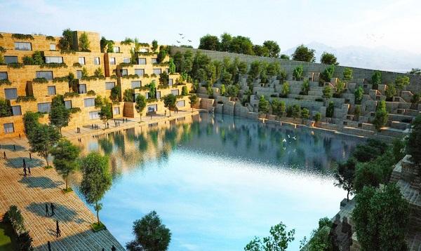 """perierga.gr - Εντυπωσιακός σχεδιασμός εταιρείας με """"πισίνα"""" στο κέντρο!"""