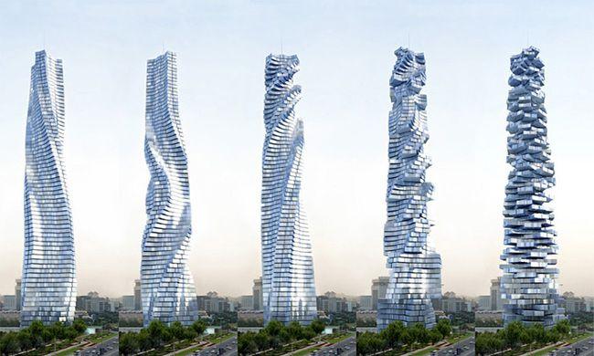 perierga.gr - Ο πρώτος περιστρεφόμενος ουρανοξύστης στο Ντουμπάι!