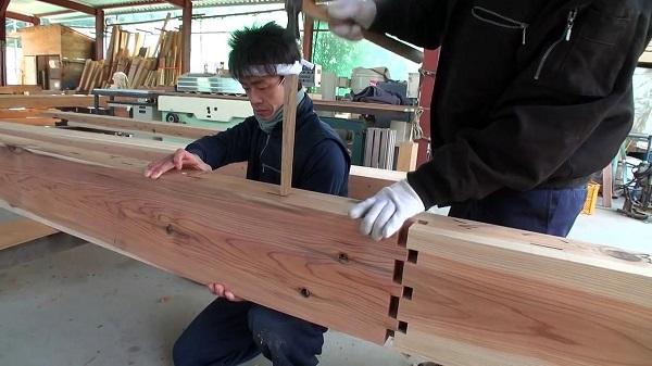 perierga.gr - Παραδοσιακή ιαπωνική τεχνική ένωσης ξύλων χωρίς καρφιά!