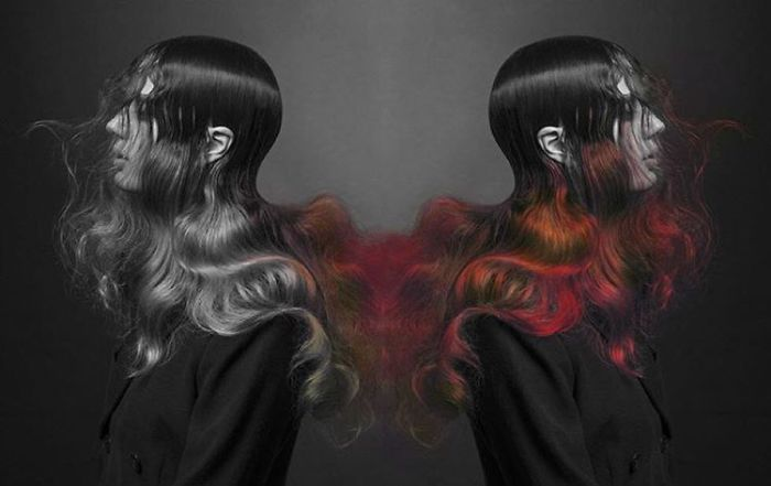 perierga.gr - Μαλλιά αλλάζουν χρώμα με τη θερμοκρασία!