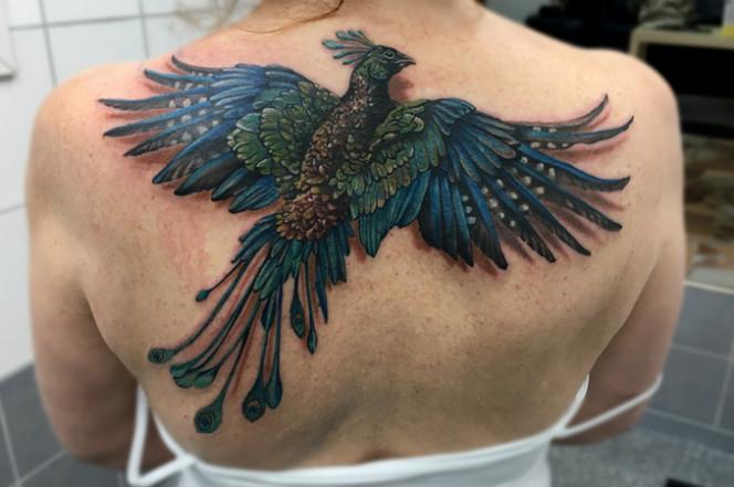 perierga.gr - Απίθανο τρισδιάστατο τατουάζ!