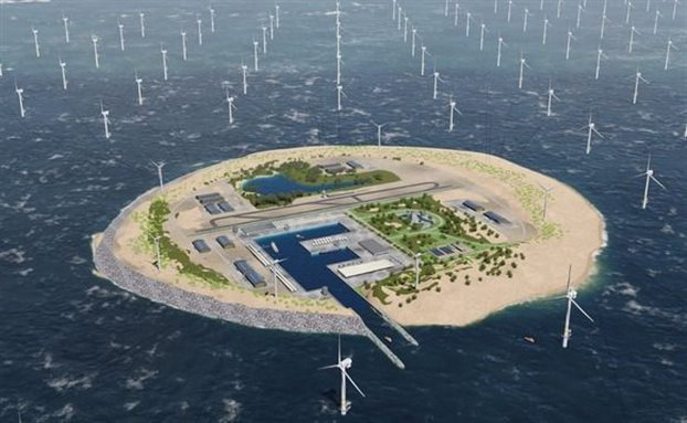 perierga.gr - Eνεργειακό νησί στη Βόρεια θάλασσα!