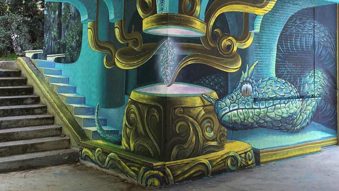 perierga.gr - Νέο εντυπωσιακό γκράφιτι στην Αθήνα!