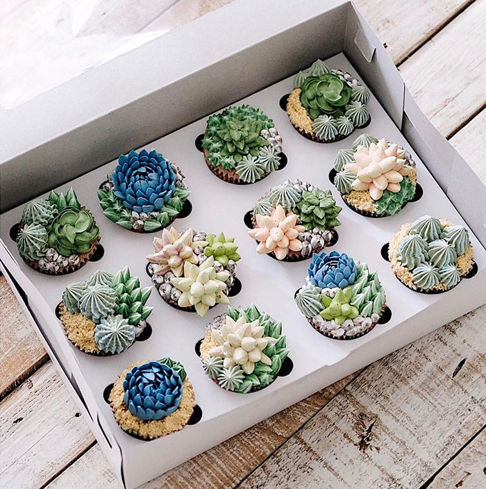 Perierga.gr - Λαχταριστές τούρτες με έμπνευση από... κήπο!