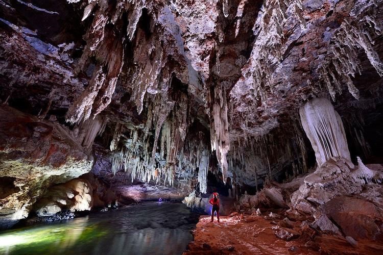 Οι πανέμορφες σπηλιές Terra Ronca στη Βραζιλία