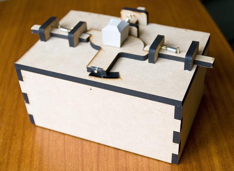 perierga.gr - Κουτί μπισκότων χρειάζεται 2 άτομα για να ανοίξει!
