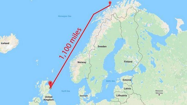 perierga.gr - Παίκτης σούταρε και η μπάλα βρέθηκε 1.800 χιλιόμετρα μακριά!