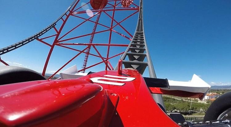 "perierga.gr - ""Κόκκινη δύναμη"" Το γρηγορότερο και ψηλότερο τρενάκι της Ευρώπης!"