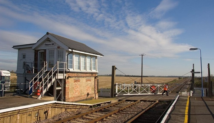 perierga.gr - Ο πιο... ήσυχος σιδηροδρομικός σταθμός!