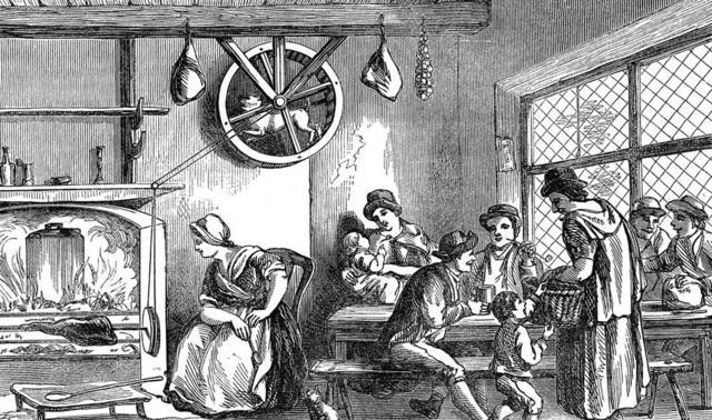 perierga.gr - Ο σκύλος του 16ου αιώνα που βοηθούσε στο ψήσιμο του κρέατος!