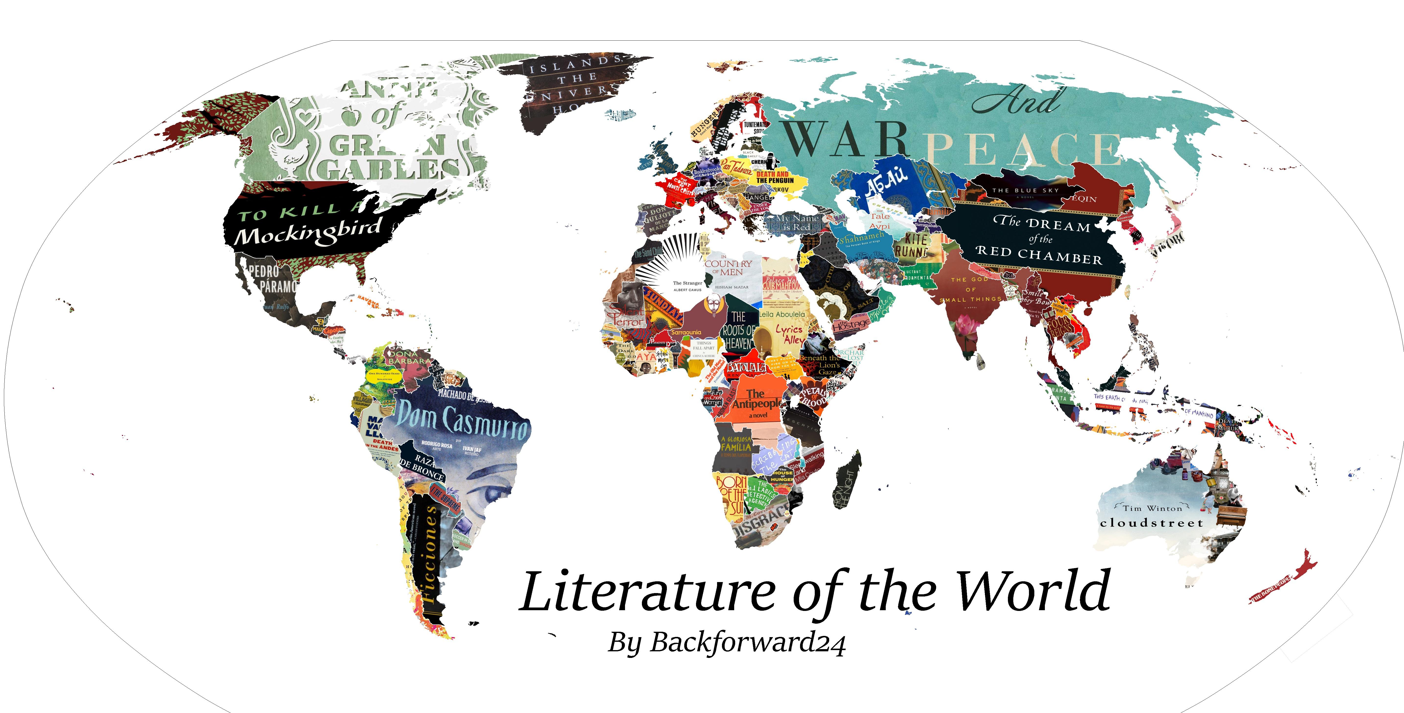 perierga.gr - Xάρτης αποκαλύπτει το πιο σημαντικό βιβλίο κάθε χώρας