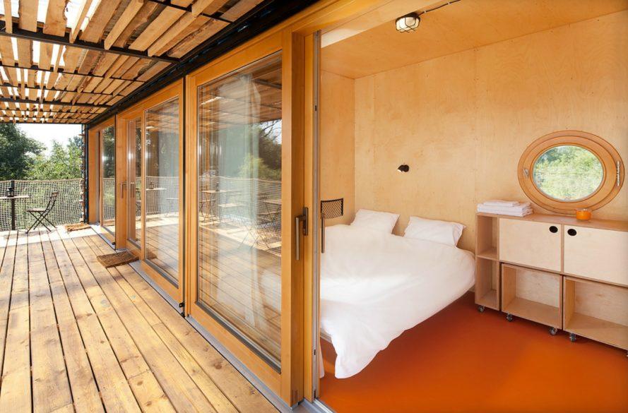 perierga.gr - Ξενοδοχείο σε κοντέινερ μεταφέρεται σε διαφορετικές τοποθεσίες!
