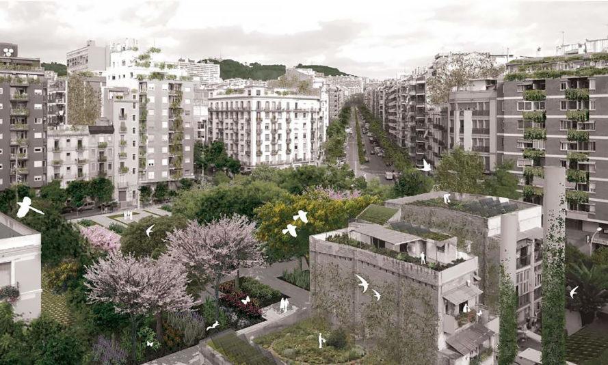 perierga.gr - Η Βαρκελώνη γίνεται πιο πράσινη πόλη!