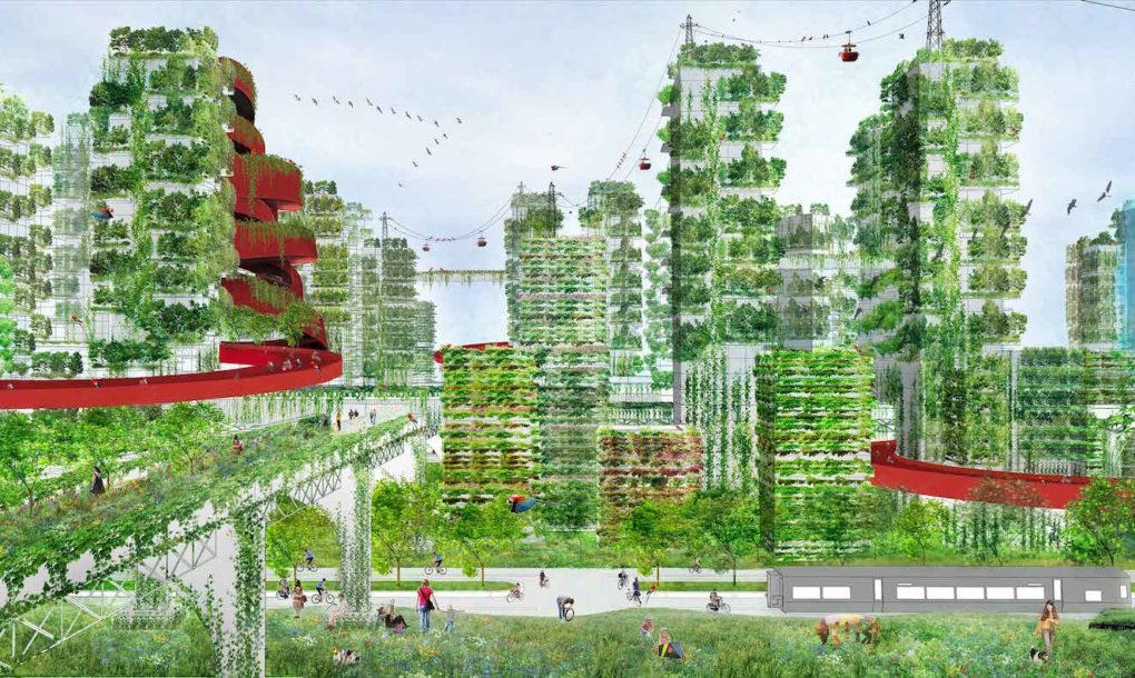 """perierga.gr - Προετοιμάζεται η πρώτη """"πράσινη"""" πόλη στην Κίνα!"""