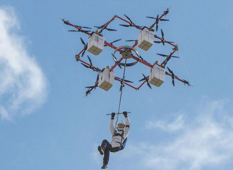 Εperierga. gr - εύθερη πτώση από... drone!