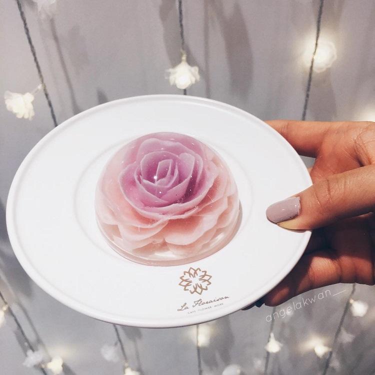 perierga.gr - Λουλούδι κερασιάς... ανθίζει στο πιάτο και τρώγεται!