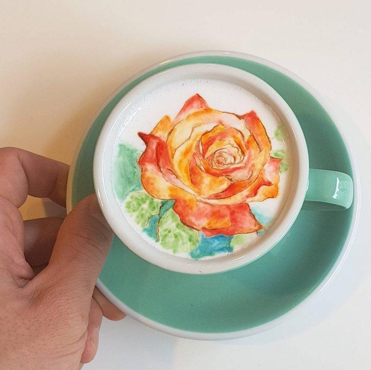 perierga.gr - Το latte art σε άλλη διάσταση!
